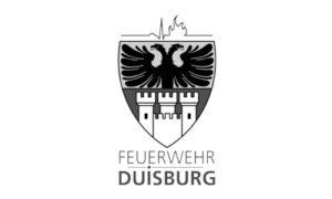 Erste-Hilfe Schlüsselanhänger als Notfall-Set von RettEi für die Feuerwehr Duisburg.