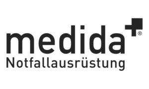 Erste-Hilfe Schlüsselanhänger als Notfall-Set von RettEi für die Firma Medida Notfallausrüstung GmbH.