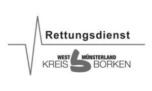 Erste-Hilfe Schlüsselanhänger als Notfall-Set von RettEi für den Rettungsdienst West Münsterland im Kreis Borken.