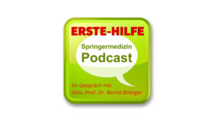Erste-Hilfe Podcast mit Prof. Dr. Böttiger