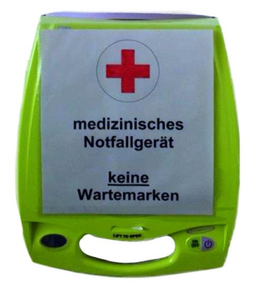 Defibrillator als medizinisches Notfallgerät