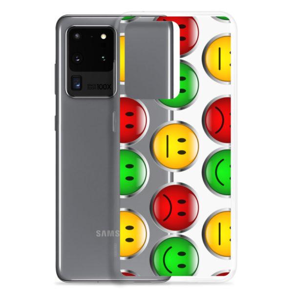 Samsung Galaxy-Handyhülle mit Ampelmotiv als Schutzhülle